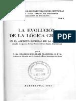 Erardo Wolfram - La Evolución de La Lógica Griega