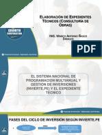 Presentación PPT - Elaboración de Expedientes Técnicos, Según