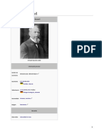 Husserl Wikipedia Etapas Obras y Bibliografia