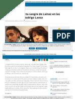 La Policía Detecta Sangre de Laínez en Las Deportivas de Rodrigo Lanza - Aragón - El Periódico de Aragón