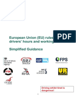 Simplified Guidance Eu Drivers Hours Working Time Rules