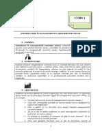 1. Introducere În Managementul Resurselor Umane