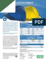 Topgard Bulletin - MX-ES