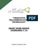 UTT Smart Home Guidelines V7.0 Dec 2010