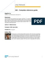SAP BW on HANA - Complete Reference Guide