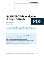 Web Analytics Buyer's Guide 2007