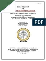 71278974 Online Recruitment System