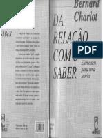 1 - Da Relação Com o Saber - Bernard Charlot