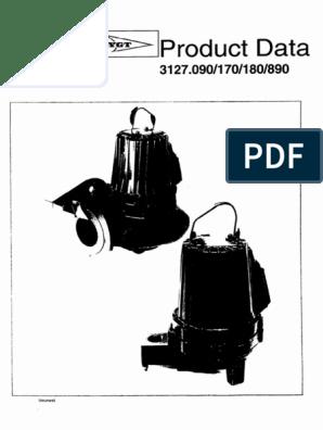 Flygt 3127 Manual