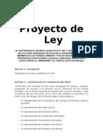 Proyecto de ley elaborado por Víctor García Toma