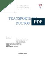 Transpotes y Comunicaciones