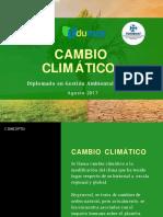 Cambio Climatico - Diplomado GAU