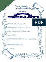 Tarea UNIDAD 01 Introduccion a la calidad total - SENATI