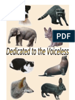 Dedicated to the Voiceless 2