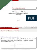 distribuciones