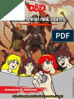 Fichas de Eventos D&D5 - 2017 Old Dragon