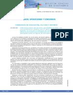 Convocatoria oposiciones Cantabria 2018
