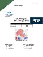 327185643 DNC PA O8 Strategy Memo