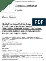 Wagner Menezes _ USP Direito São Francisco - Turma 188-23 _ Página 3
