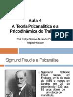 Aula5 Teoriapsicanalticaepsicodinmicadotrabalho 111001202756 Phpapp01