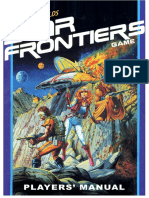 Star Frontiers Players Guide