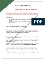 Análisis - Síntesis Conceptual - Tema Nº 9 Didáctica - Ed. Común - Ed. Inicial - Bienio 2016 - 2017. (1) (1)