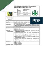 8.6.1.3 SOP Pemantauan Berkala Pelaksanaan Prosedur Pelaksanaan Dan Sterilisasi
