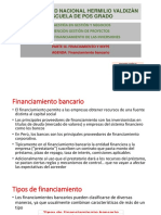 FINANCIAMIENTO BANCARIO