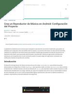 Crea Un Reproductor de Música en Android_ Configuración Del Proyecto