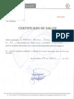 5. Certificado Salud