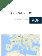 Atenas Siglo v -Seminario Optativo II