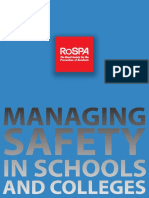 Managing Safety Schools Colleges