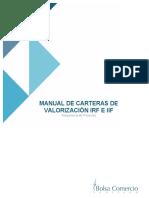 20160404 Manual Carteras de Valorización IRF e IIF
