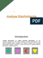 Analyse Discriminante Presentation
