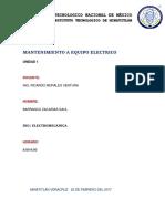 Mantto electrico U1