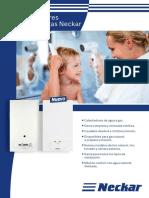 Calentador de Agua a Gas Neckar - Ficha de Producto