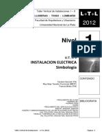 L+T+L (2012) INSTALACION ELECTRICA - Simbología -  N1