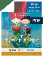 Programa Filey 2018