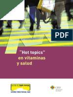 Libro Hot Topics Vitaminas