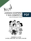 Juegos Cooperativos y Sin Competici n Para La Educaci n Infantil
