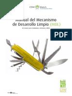 Manual Del Mecanismo de Desarrollo Limpio