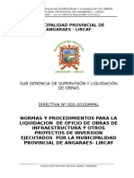 Directiva Liq.oficio 2015