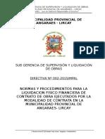Directiva Liq. Por Contrata 2015