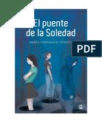 El Puente de La Soledad. M. F. Heredia