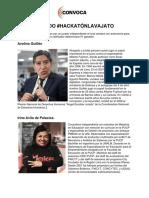 JURADO Hackatón Lava Jato