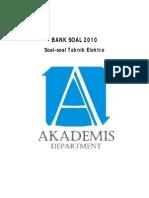 Bank Soal 2010 TE