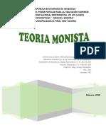 TEORIA MONISTA