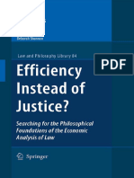 Efficiency or Justice