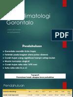 Data Klimatologi Gorontalo