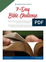 American Bible Society 7-Day Bible Challenge